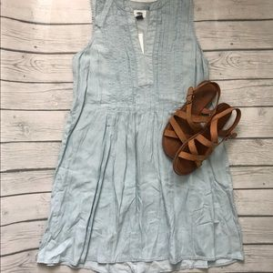 NWT Old Navy-chambray dress-size small